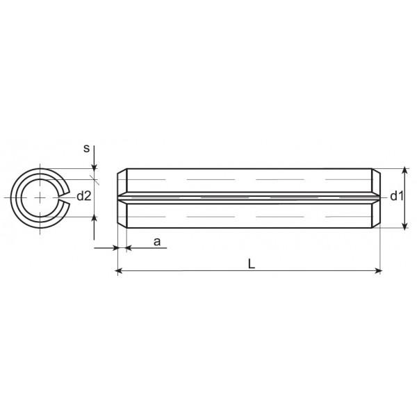 Pasador DIN 1481   ISO 8752 - Baselga Lizaga 56c04d10275e